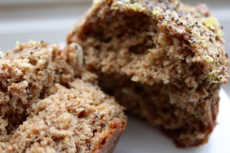 poppyseed muffin