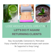 LOSE WEIGHT & FEEL GREAT IN 8ReturningClients